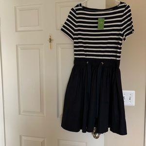 Katespade blue and white dress